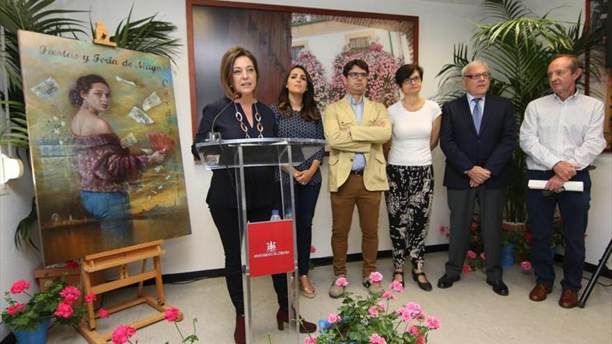 La alcaldesa prevé un millón de visitas a la Feria de Córdoba y los caseteros, más negocio