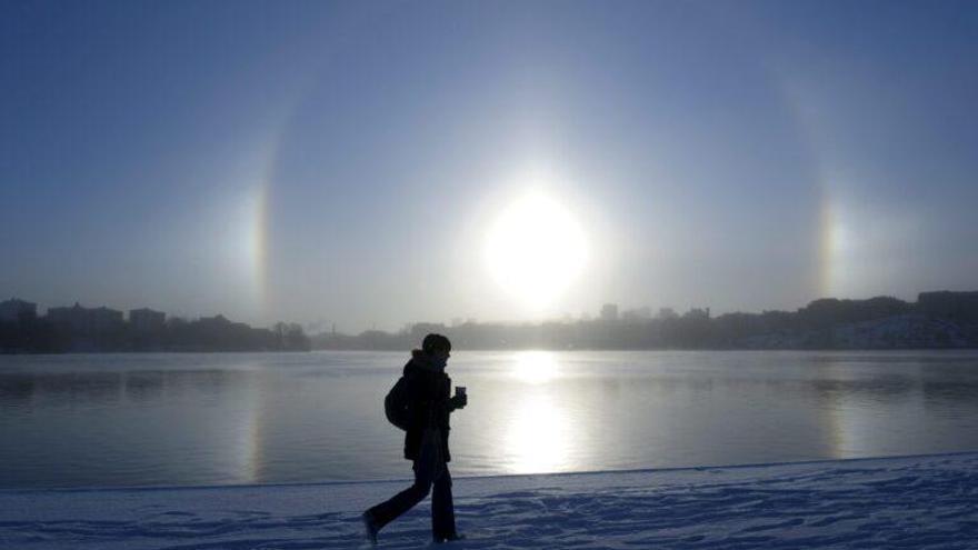 Parhelio, el bello y raro fenómeno atmosférico que pocos ven