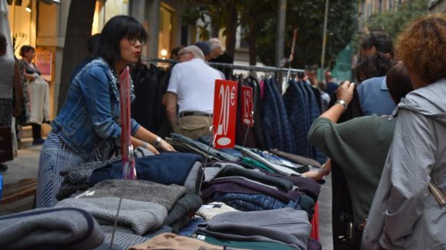La fira al carrer torna a tot l'eix comercial de Girona