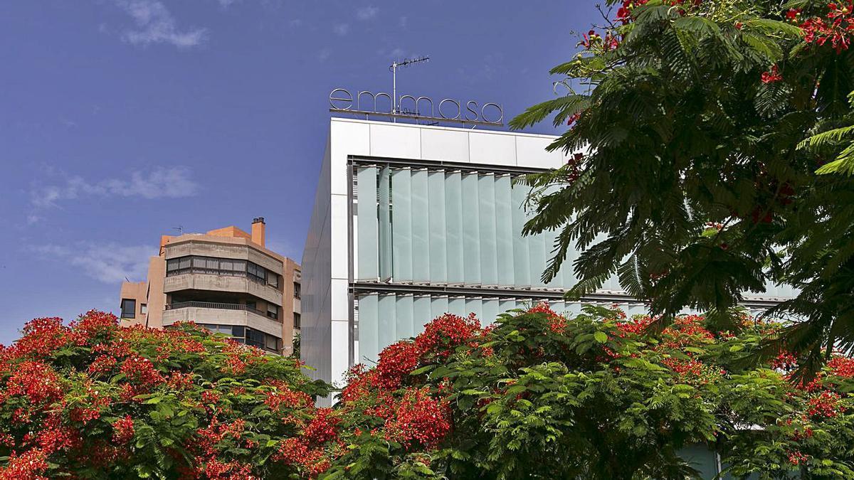 Instalaciones de EMMASA en la capital tinerfeña