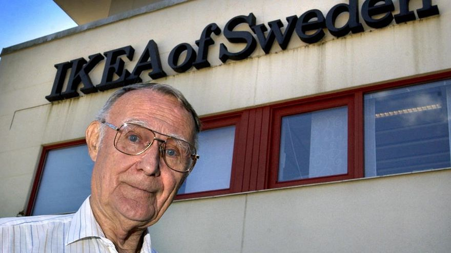 Mor als 91 anys el fundador d'IKEA, Ingvar Kamprad