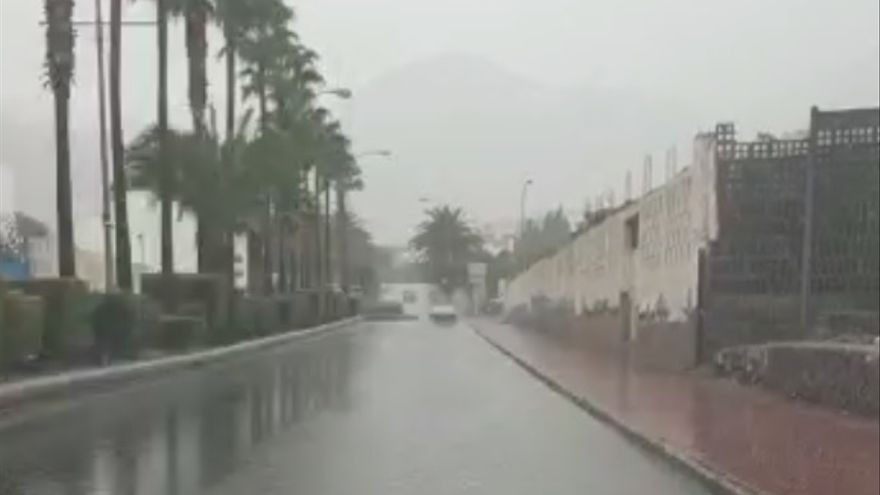 La onda tropical pasa de largo y deja a Gran Canaria sin apenas precipitaciones
