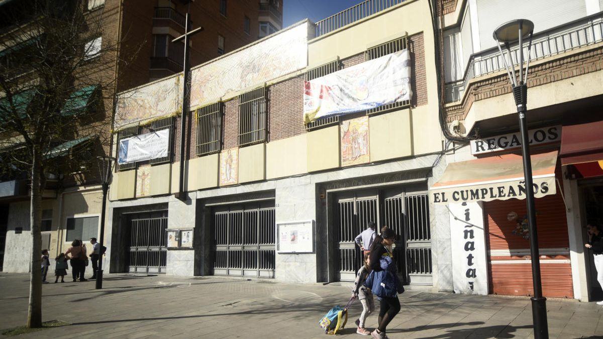 Un colegio concertado de Murcia.