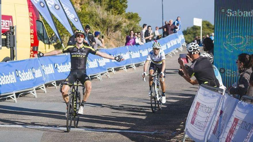 Yates gana en Santa Llúcia; e Izaguirre, virtual vencedor de la Volta