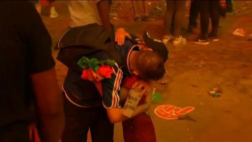 El conmovedor gesto de un niño tras el Portugal-Francia