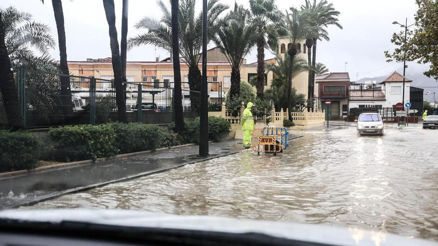 Inundaciones en Orihuela