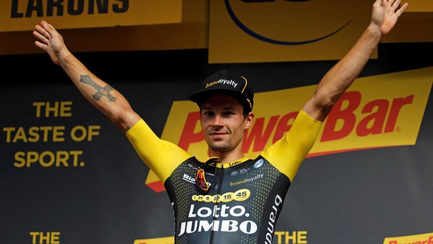 Roglic s'imposa en l'etapa 19 i Thomas es jugarà el Tour a la crono