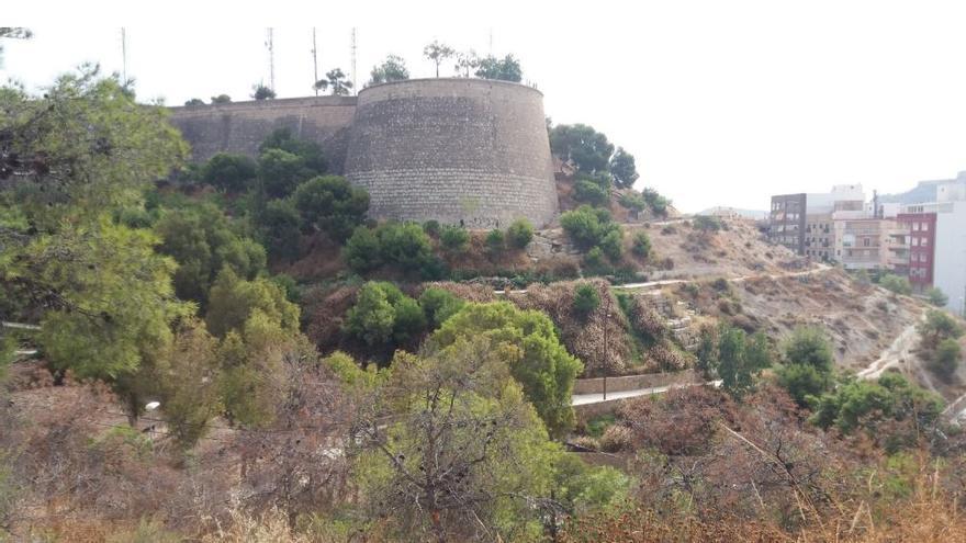 Castillo de San Fernando en Alicante