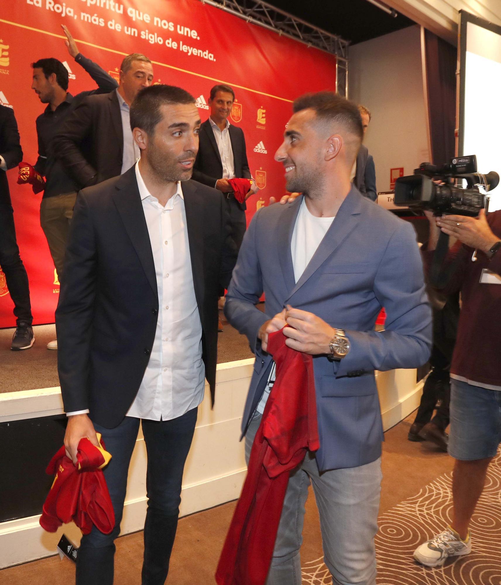 El corazón de La Roja se reúne en València