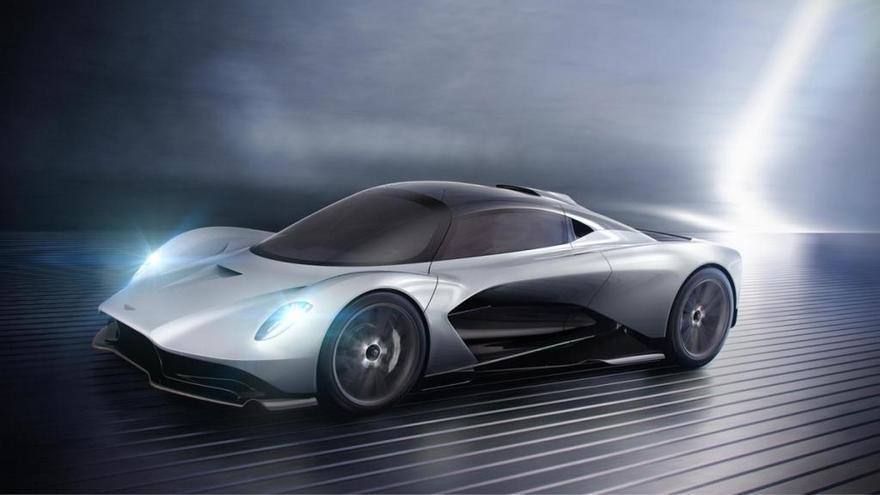 Aston Martin presenta el motor que propulsará al hiperdeportivo Valhalla