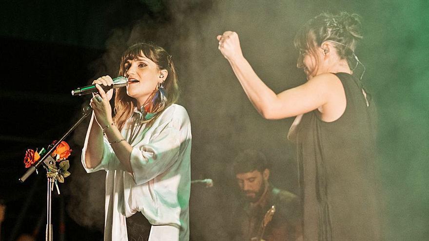Rozalén ofrece el concierto más multitudinario desde el inicio de la pandemia