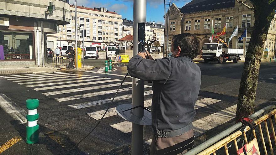 A Estrada hará peatonal Calvo Sotelo y limitará a 30 km por hora Justo Martínez