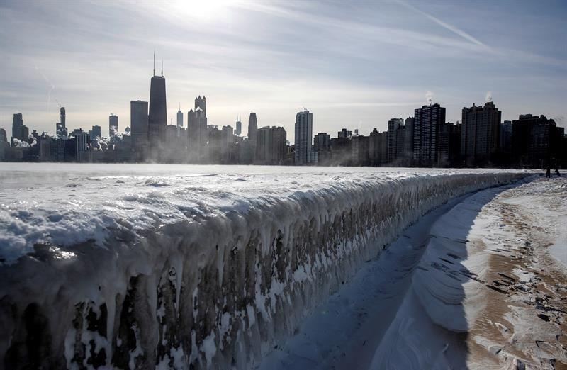 El nordeste de EEUU se congela