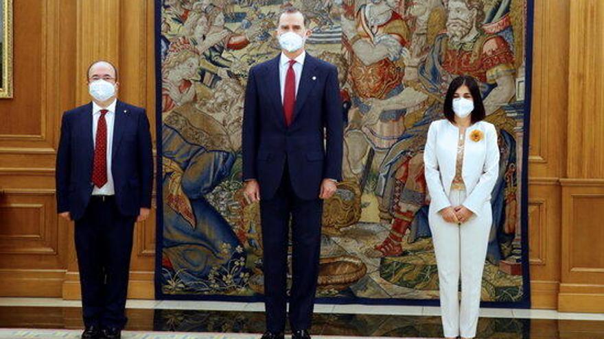 Iceta i Darias prenen possessió com a ministres de Política Territorial i Sanitat