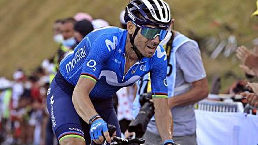 Valverde y Rubén Fernández estarán en un Tour de Francia al que no acude Rojas
