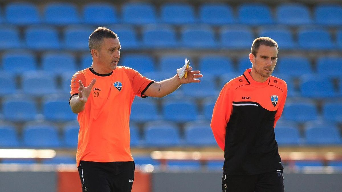 Sergi Escobar entrena al Sibenik, de la primera división de Croacia.