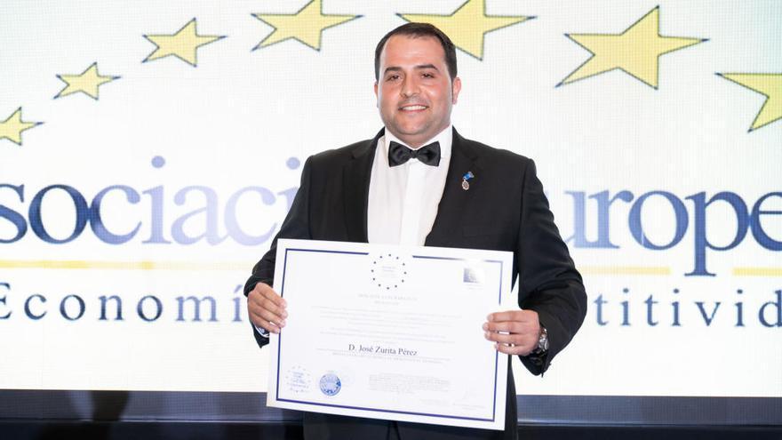 Un emprendedor grancanario, Medalla al Mérito en el Trabajo 2020