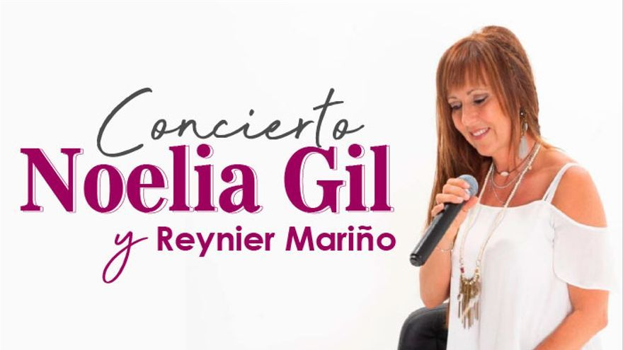 Noelia Gil con Reynier Mariño