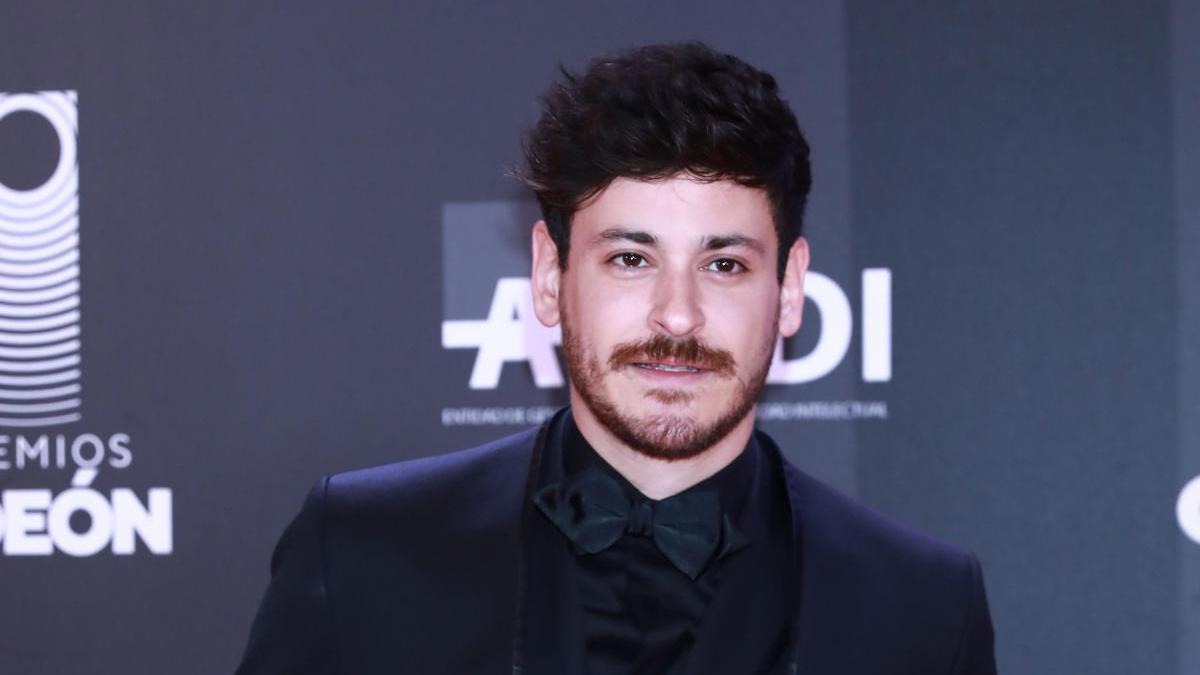 Luis Cepeda, en los Premios Odeon