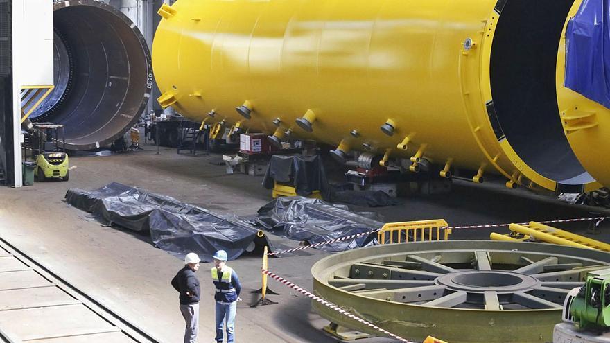 Windar se alía con un astillero británico para competir por parques eólicos marinos