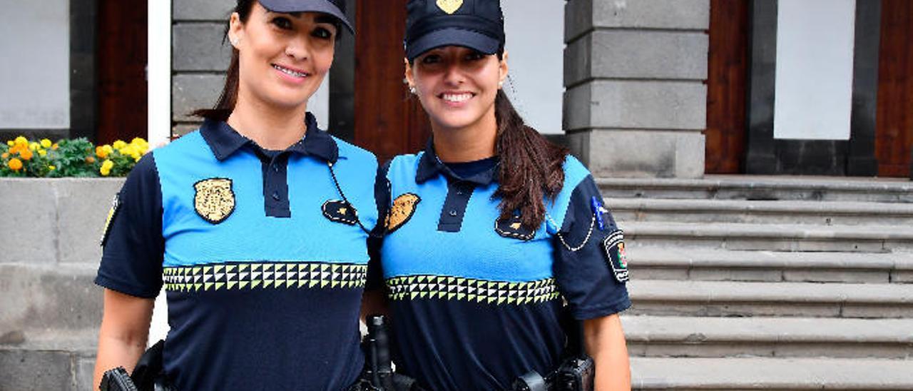 De izquierda a derecha, Ángeles Trujillo y Patricia Suárez.
