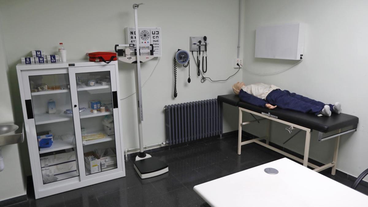 Una sala de pràctiques de la Facultat de Medicina de la UdG, foto d'arxiu