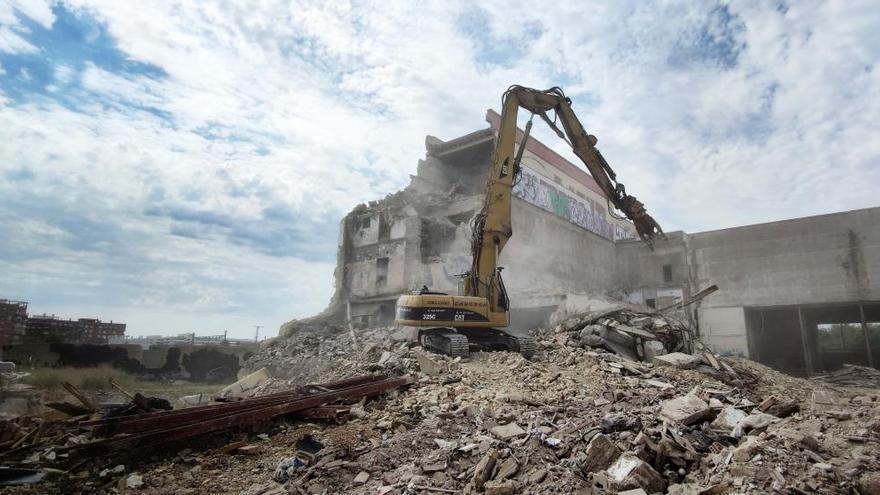 Se inicia la 4ª fase de demolición de la cervecera de Sant Vicent