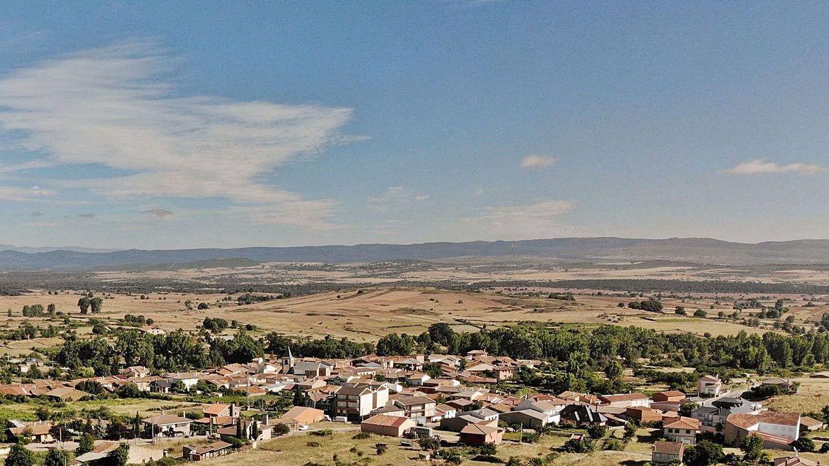 Un pueblo de la Zamora rural.