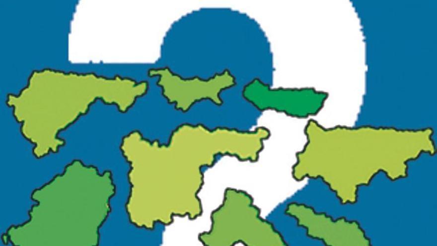 Las comarcas en Asturias