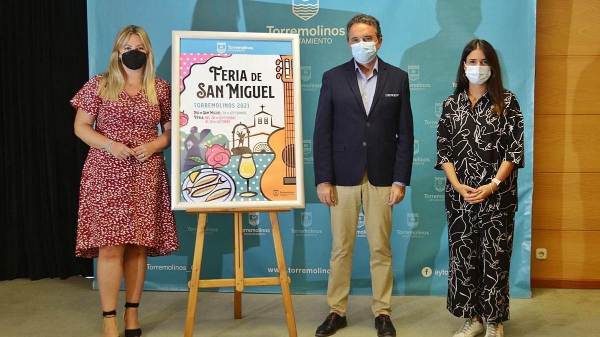 Presentación del cartel de la Feria de Torremolinos 2021.