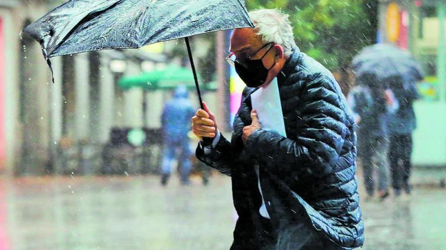 El temporal Bella deja rachas de viento de casi 120 kilómetros horas en Muñotello, Ávila