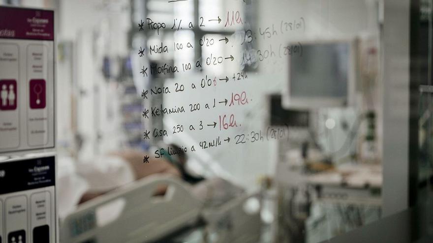 Más de la mitad de los hospitalizados con covid en Mallorca, usuarios de geriátricos