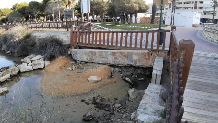Vía libre a reparar el tramo hundido del Senillar de Moraira