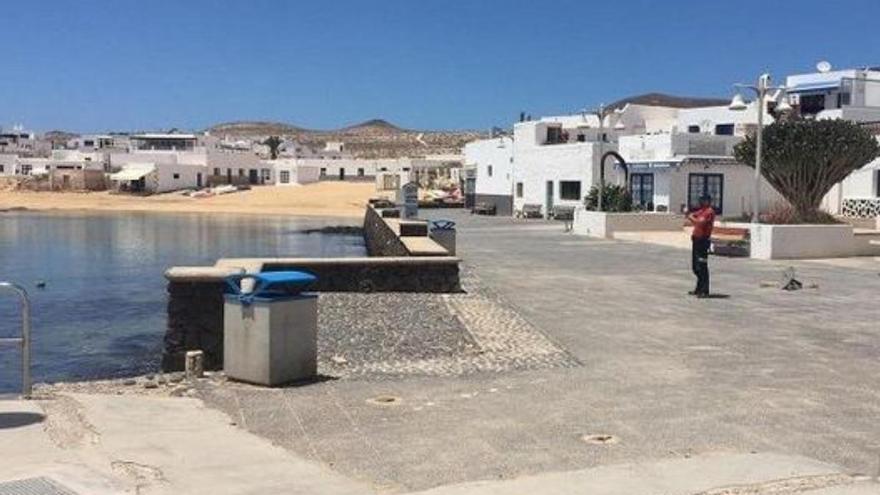 La Cámara de Comercio de Lanzarote abre una oficina en La Graciosa