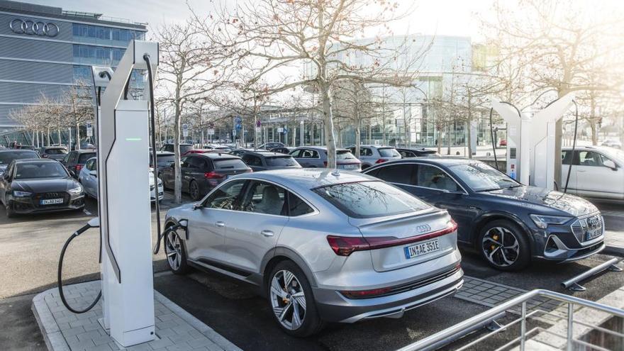 Audi invertirá 100 millones en implantar más de 4.500 puntos de carga para 2022
