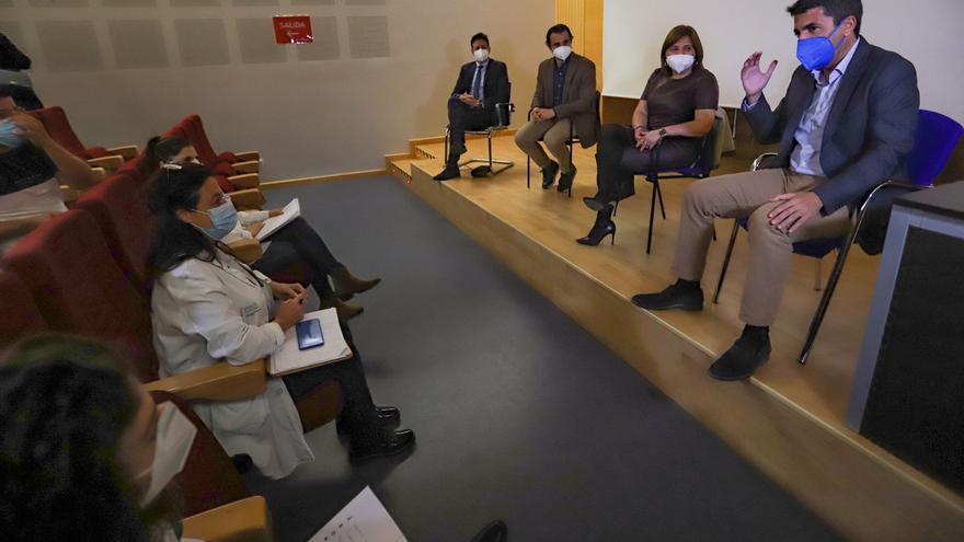 Sanidad exige explicaciones por la entrada de Mazón y Bonig a un hospital sin autorización