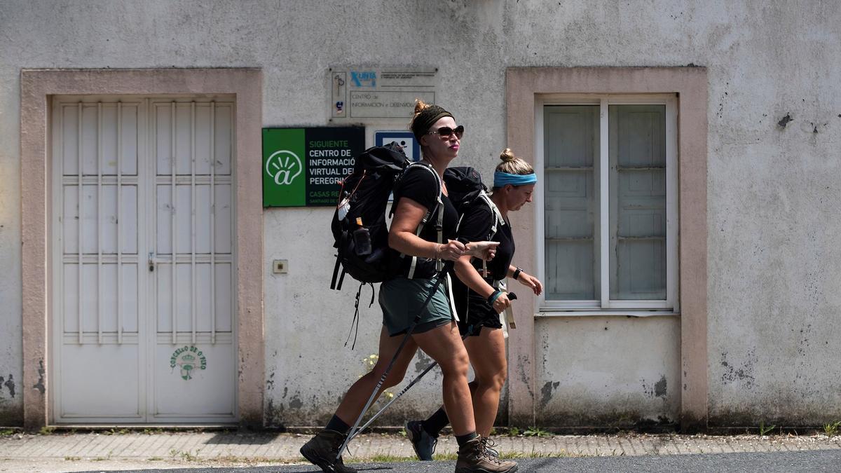 Viajeros estadounidenses en España.