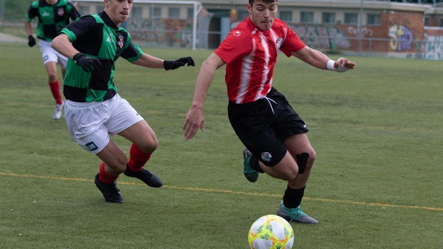 El Zamora CF juvenil se enfrenta hoy en Valorio al colista, Atlético Pinilla