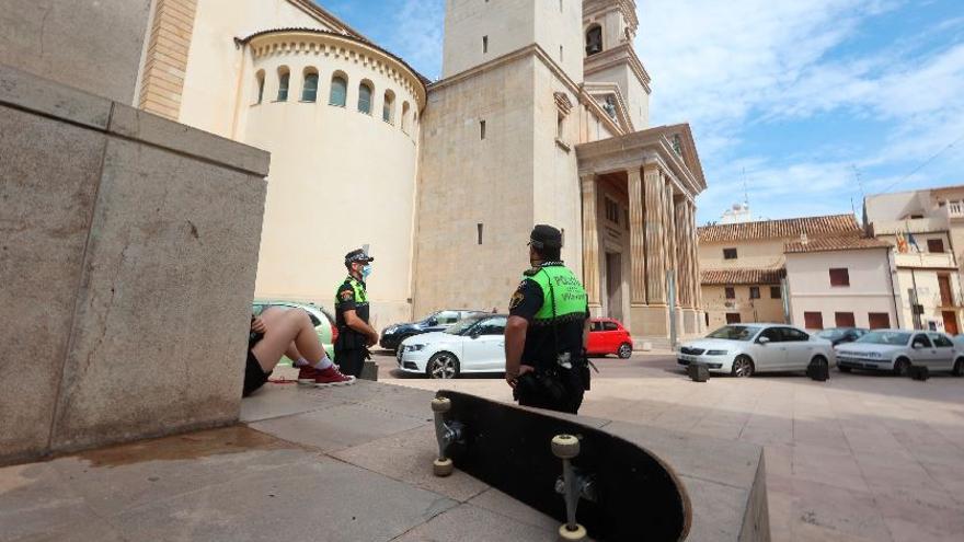 Más control y multas en Vila-real para disuadir a los 'skaters' de Sant Pasqual