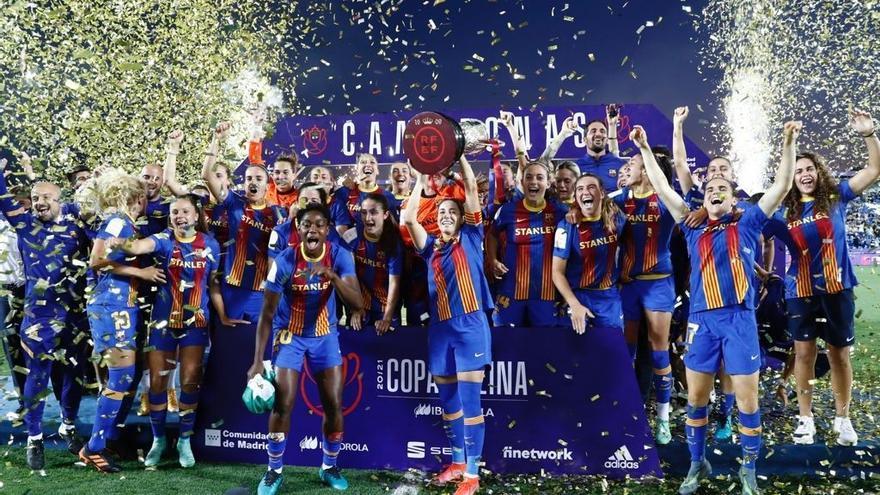 El Barça Femení aconsegueix el triplet