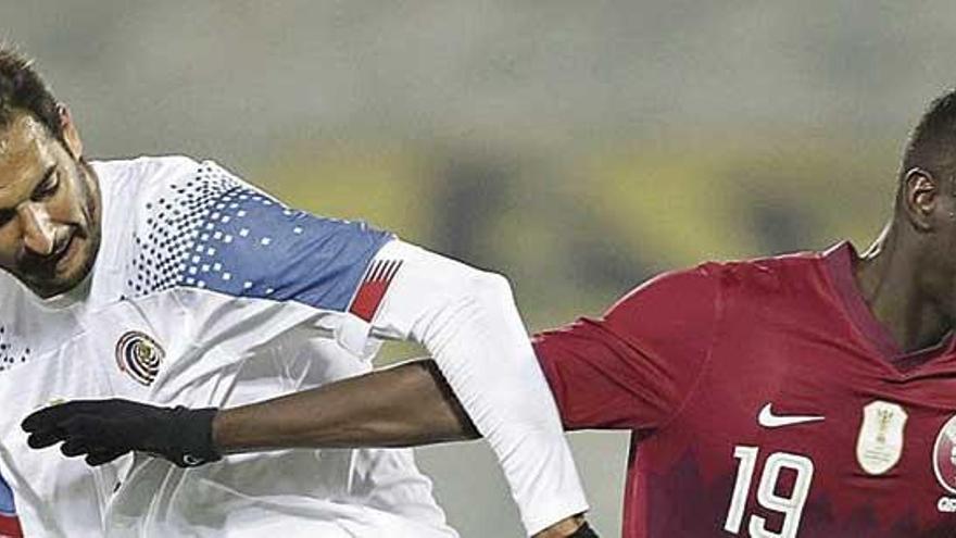 El deportivista Celso Borges jugó completo el Costa Rica-Qatar