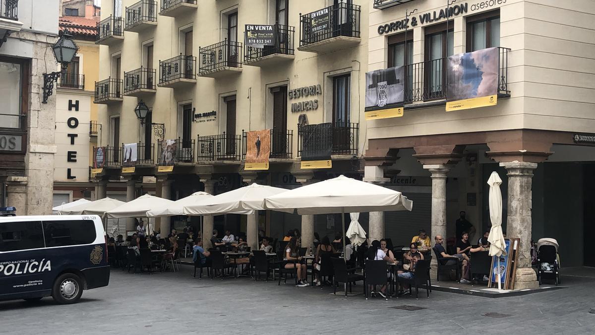 El centro de Teruel, en una imagen reciente.