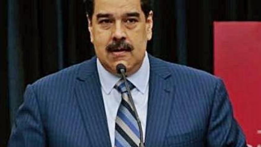 EUA ofereix 15 milions de dòlars per a qui ajudi a detenir Nicolás Maduro