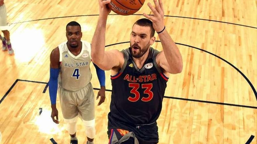 Marc Gasol brilla en un All Star protagonizado por Anthony Davis