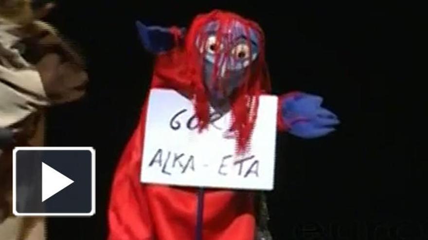 La polémica obra del 'Gora Alka-ETA' vuelve a Madrid