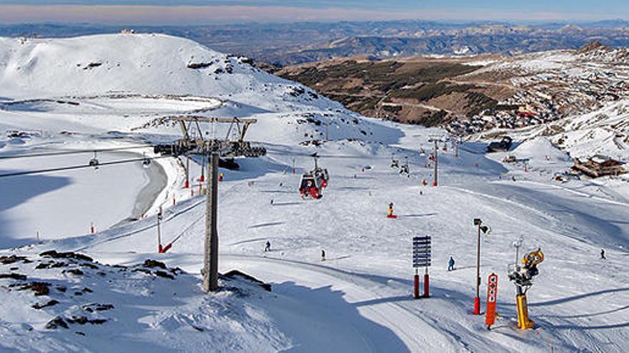 Sierra Nevada cierra la Navidad con una ocupación del 80%