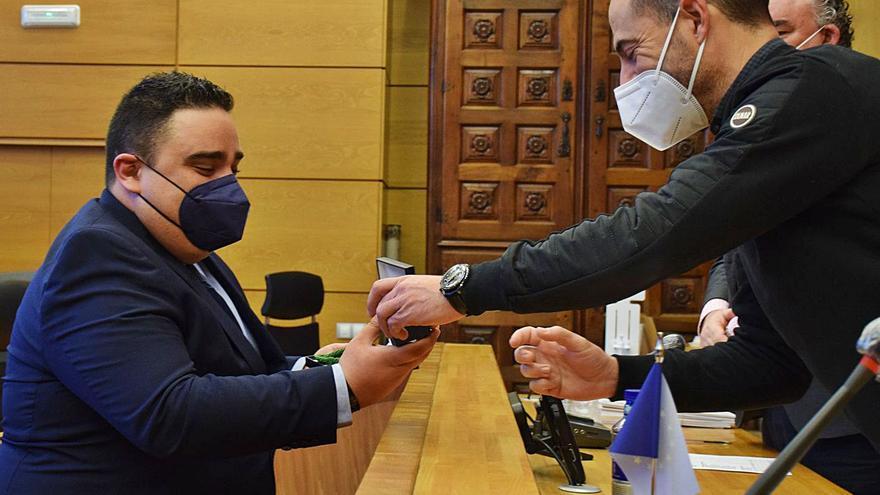 Javier Mateus, nuevo concejal del PP de Siero