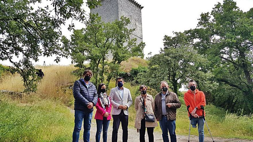 La Xunta licita obras de excavación y mejora en el Castelo da Pena, en Xinzo