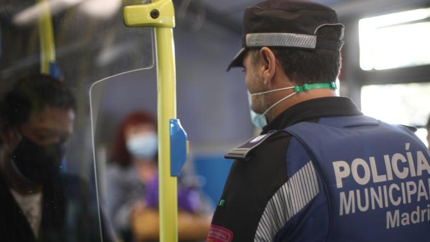200 policías controlarán las restricciones en Madrid