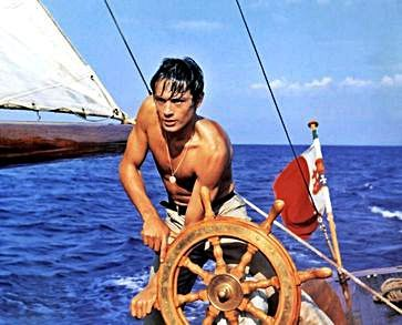 Alain Delon en A pleno sol (1960)